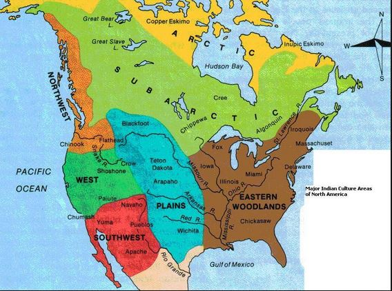 Pre Colonial America Prior To 1700 Historical Helper